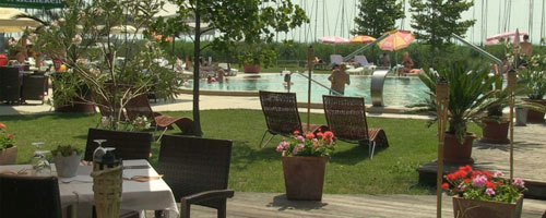 Hotel Silver Resort Balatonfüred - Étterem terasz